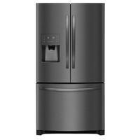 Frigidaire 26.8-cu ft French Door Refrigerator with Ice Maker (Fingerprint-Resistant Black Stainless Steel) ENERGY STAR
