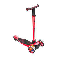 Yvolution Y Glider XL 3 Wheel Scooter - Red