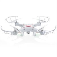 RC 6-Axis Quadcopter Flying Drone Toy With Gyro and Camera Remote Control LED Lights