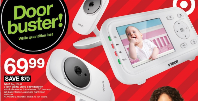 VTech Digital Video Baby Monitor