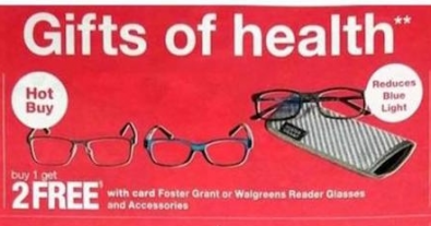 Foster Grant Reader Glasses