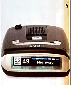 Escort Max II Platinum Radar Detector Bundle