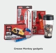 Select Grease Monkey Gadgets