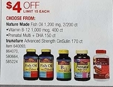Nature Made Dietary Supplements - Select Products