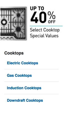 Select Cooktops