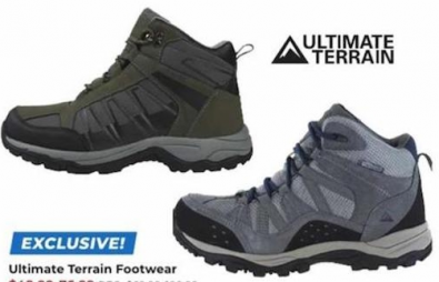 Ultimate Terrain Footwear