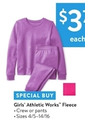 Girls' Athletic Works Fleece