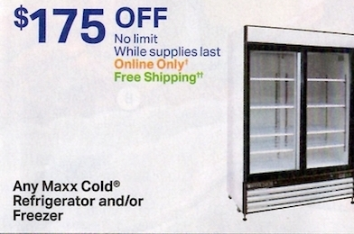 Any Maxx Cold Freezer