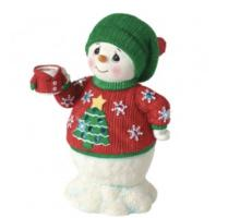 75% Off  Led Musical Snowman in Ugly Sweater at Precious?