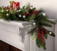 30% off  select Christmas Greenery items